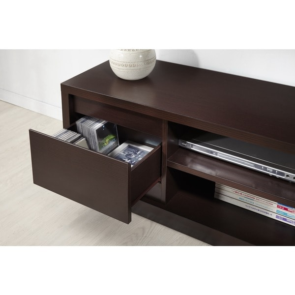 Furniture Of America Irvine Contemporary 70 Inch Entertainment TV Console    Free Shipping Today   Overstock.com   15802640