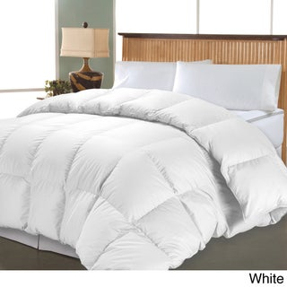 Hotel Grand 1000 Thread Count Egyptian Cotton Oversized White Down Comforter (More options available)
