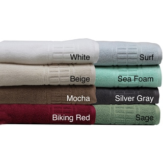 Amraupur Overseas Bloom QuickDry Combed Cotton 6-piece Towel Set