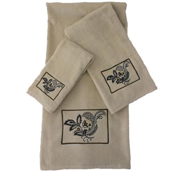 Sherry Kline Findlay 3-piece Decorative Towel Set