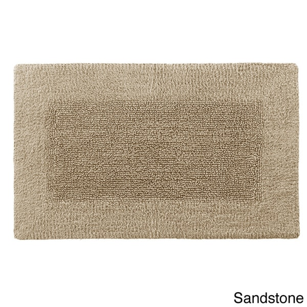Reversible Solid Cotton and Rayon From Bamboo Bath Rug Collection - Free  Shipping On Orders Over $45 - Overstock.com - 15805436