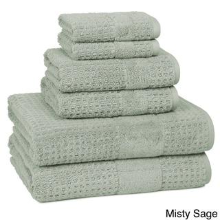Turkish SPA Collection 6-Piece Towel Set