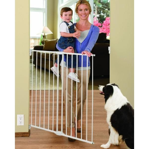 Shop Munchkin Extending Extra Tall And Wide Metal Gate Ships To