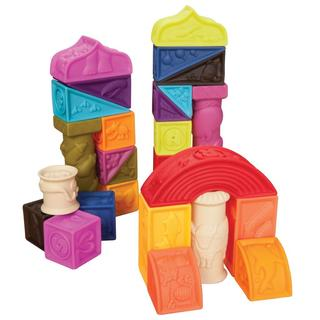 Children's Animal and Alphabet Play Blocks