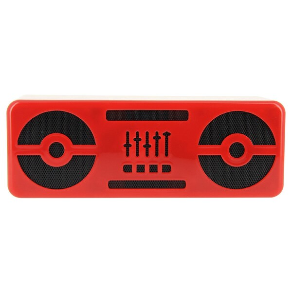 BeeWi BBS305-A6 Bluetooth Red Bluetooth Speaker