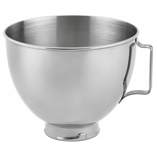 KitchenAid K45SBWH Stainless Steel 4.5-quart Mixing Bowl with Handle