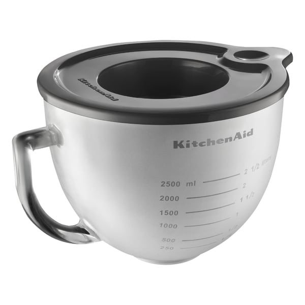 Phenomenal Kitchenaid K5Gbf 5 Quart Frosted Glass Bowl With Lid For Tilt Head Stand Mixer Download Free Architecture Designs Ferenbritishbridgeorg