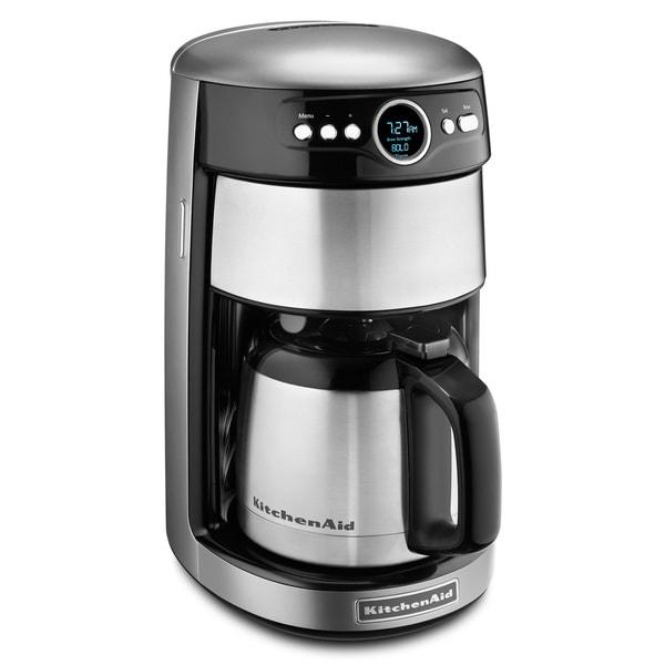 KitchenAid KCM1203CU Contour Silver 12-cup Thermal Coffee Maker
