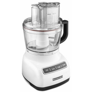 KitchenAid KFP0922WH White 9-cup Food Processor