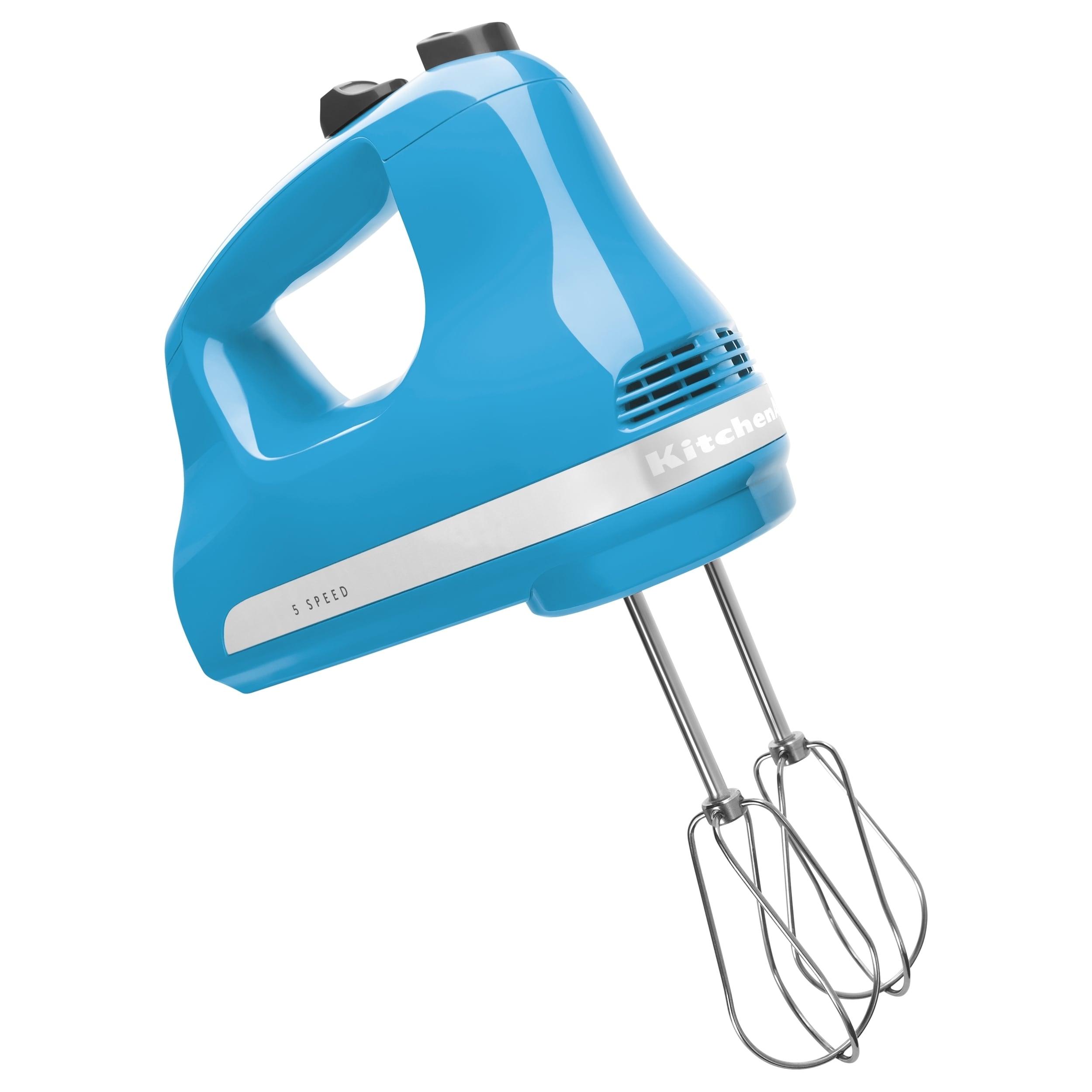 KitchenAid Ultra Power KHM512CL Hand Mixer, Blue (Crystal)
