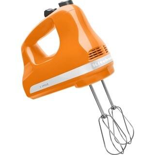 KitchenAid KHM512TG Tangerine 5-Speed Ultra Power Hand Mixer