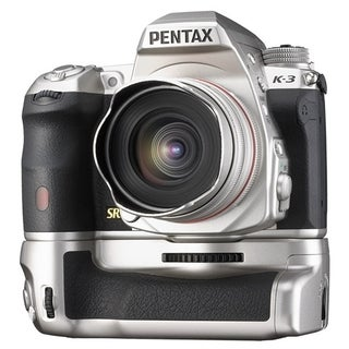Pentax K-3 23.4 Megapixel Digital SLR Camera Body Only - Silver