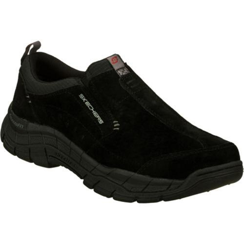 Men's Skechers Relaxed Fit Rig Mountain Top Black - Thumbnail 0