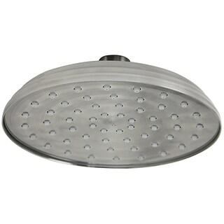 Jado Antique Nickel 6-inch Traditional Rain Can Showerhead