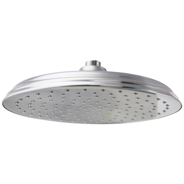 Jado Antique Nickel 10 inch Traditional Rain Can Showerhead Free