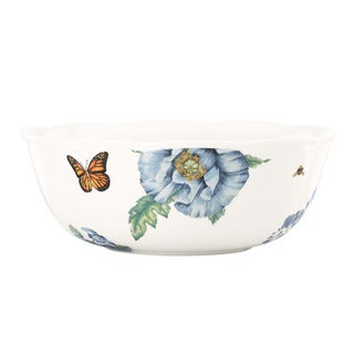 Lenox 'Butterfly Meadow' Blue Serving Bowl