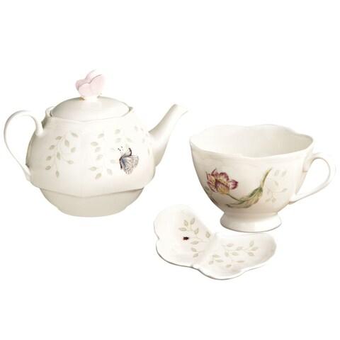 Lenox 'Butterfly Meadow' Stackable Tea Set