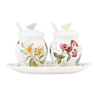 Lenox Butterfly Meadow 7-piece Condiment Set