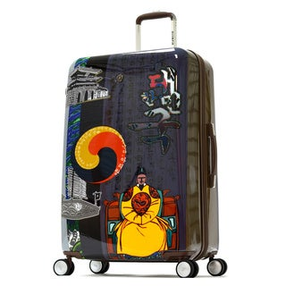 Olympia 'King Sejong' Art Series 29-inch Large Hardside Spinner Upright Suitcase