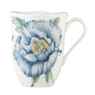 Shop Lenox Butterfly Meadow Blue Mug Free Shipping On