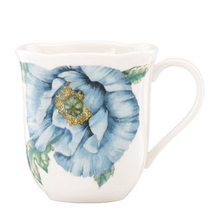 Lenox 'Butterfly Meadow' Blue 4-piece Mug Set