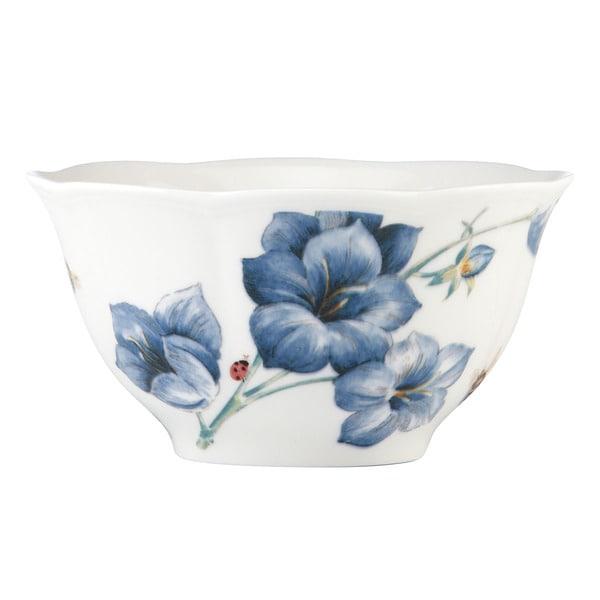 Shop Lenox Butterfly Meadow Blue Rice Bowl Free