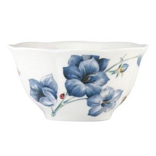 Lenox 'Butterfly Meadow' Blue Rice Bowl