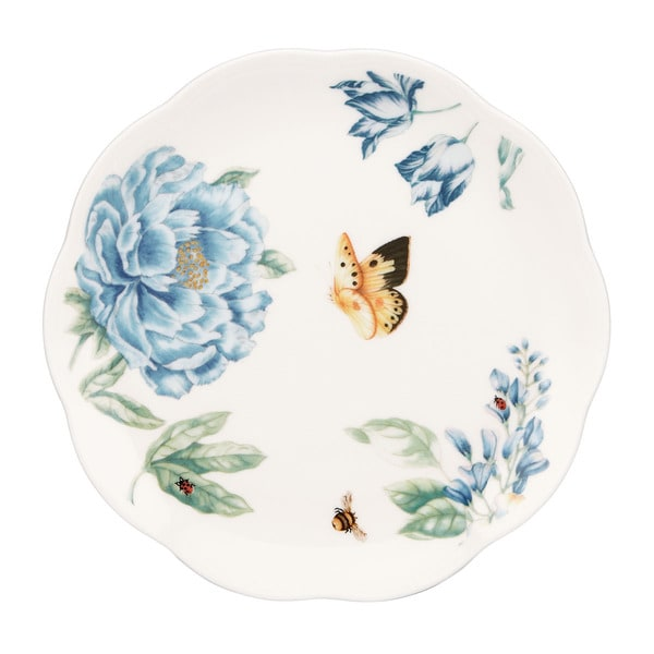 Shop Lenox Butterfly Meadow Blue 4 Piece Dessert Plate