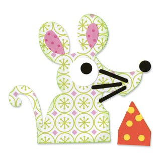 Sizzix Bigz Die - Mouse & Cheese by Dena Designs