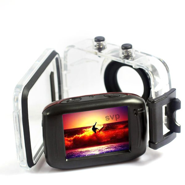 SVP AC7200 720P HD Mini Action Helmet Camera Waterproof Sport Car DV Bike Camcorder