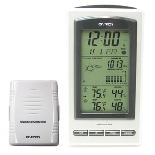 dr. Tech Air Pressure/ Humidity/ Temperature/ Weather Forecast/ Moon Phase Wireless Weather Station
