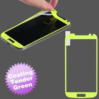 INSTEN Tender Green Coating Screen Protector for Samsung Galaxy S4