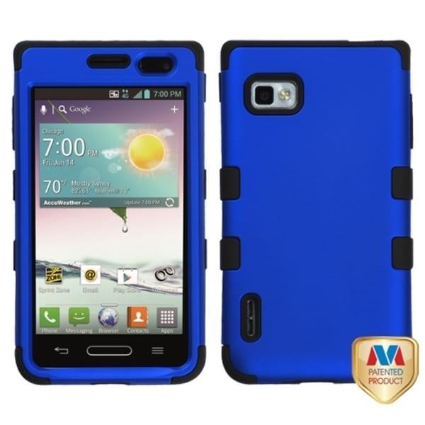 INSTEN TUFF Hybrid Phone Case Cover for LG VM720 Optimus F3/ LS720 Optimus F3