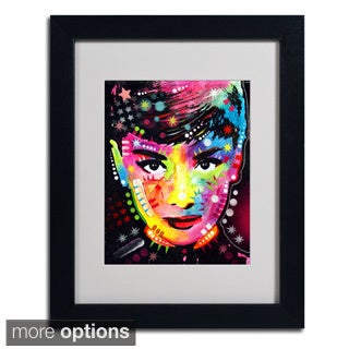 Dean Russo 'Audrey' Framed Matted Art
