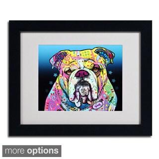 Dean Russo 'The Bulldog' Framed Matted Art