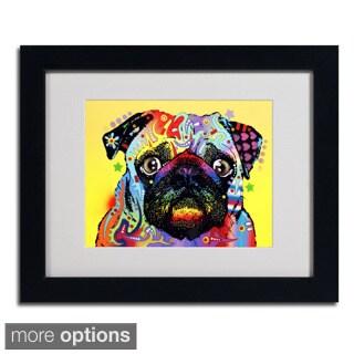Dean Russo 'Pug' Framed Matted Art