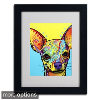 Dean Russo 'Chihuahua' Matted Framed Art
