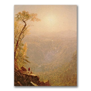 Sanford Gifford 'Kauterskill Clove in the Catskills' Canvas Art