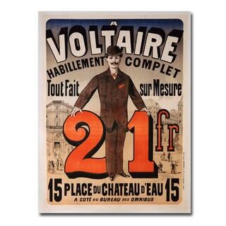 Jules Cheret 'A Voltaire' Canvas Art
