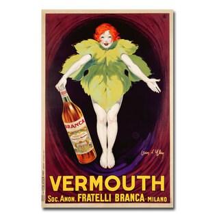 Jean d'Ylen 'Fatelli Branca Vermouth' Canvas Art