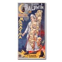 Unknown 'Samri S.Baldwin the Whie Mahatma' Canvas Art - Multi