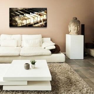 Ready2HangArt 'Ivory Keys' Oversized Canvas Wall Art