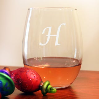 Personalized Stemless Wine Glasses (Set of 8)