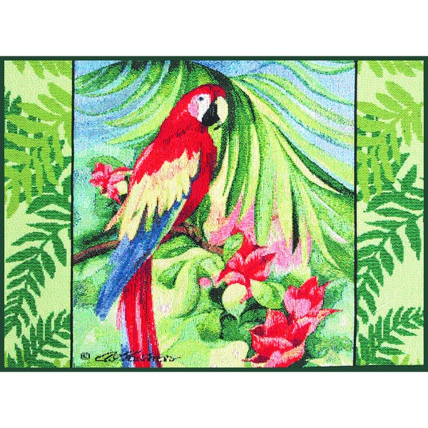 Tropical Macaw Placemats (18x13 inches) (Set of 4)