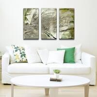 Ready2HangArt 'Abstract Palms' Canvas Wall Art (Set of 3)