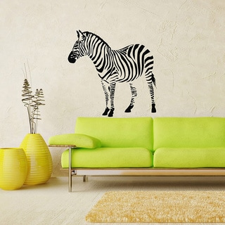 Zebra Vinyl Wall Decal