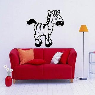 Zebra Vinyl Wall Decal