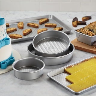 Cake Boss Silver 6-Piece Bakeware Set