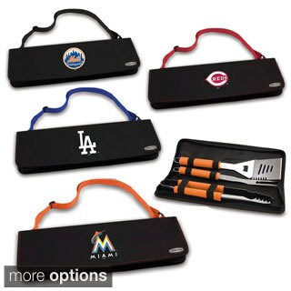 Metro (MLB) National League 3-piece BBQ Tools Tote (More options available)