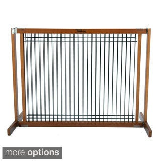 Kensington 20 Inch Wood Wire Free Standing Gate Free